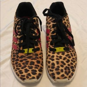 cheetah print adidas shoes